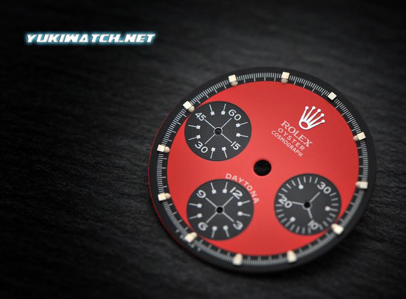 Daytona Red Paul Newman 6263 dial