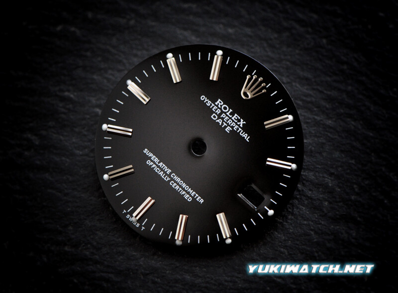 Oyster Date 15000 black dial