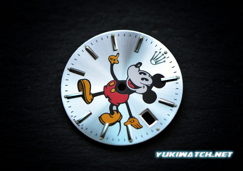 Oyster Date 15000 Mickey Dial