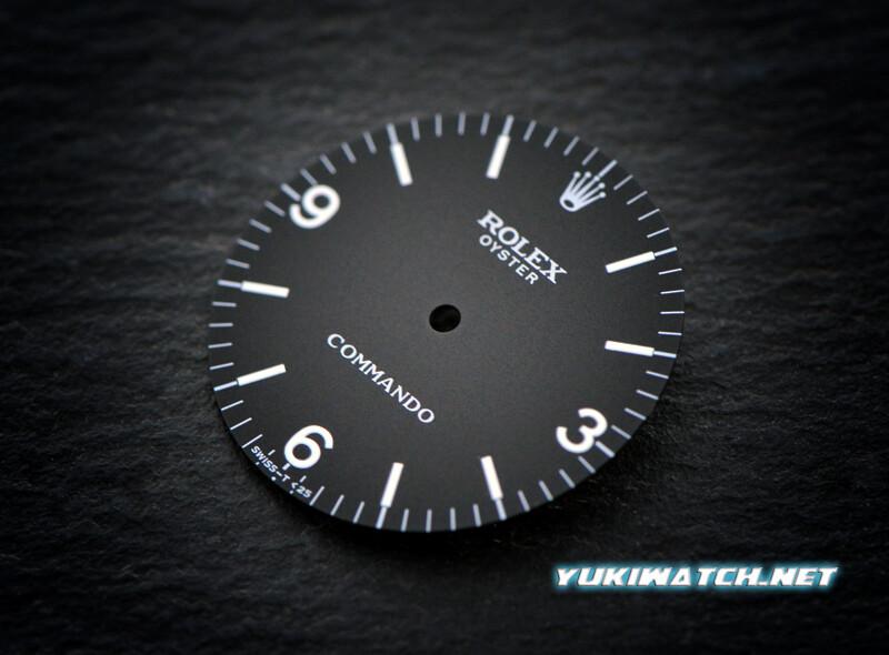 Rolex Oyster 6429 Commando wht lume dial