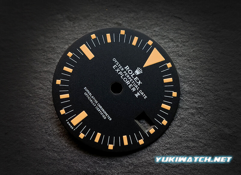 Explorer II 1655 dial