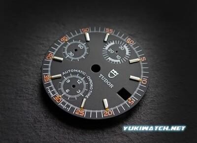 TUDOR Big Block Exotic 9430 black dial