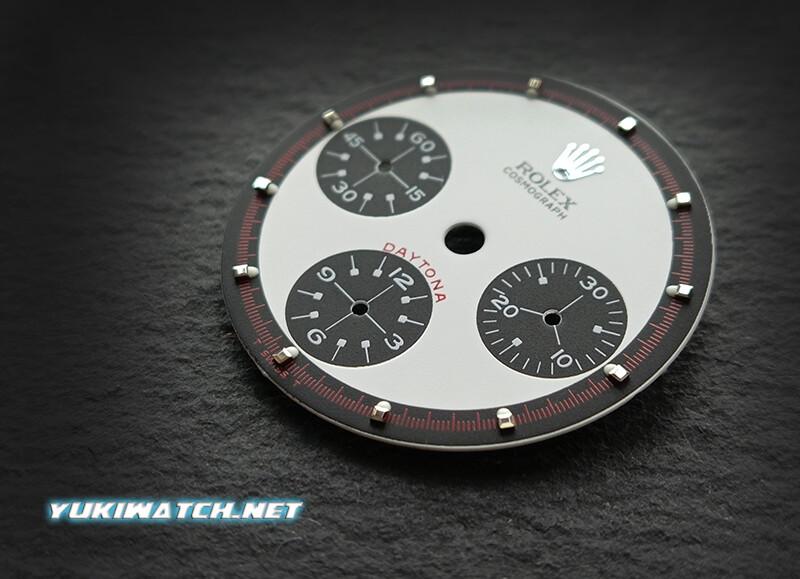 Daytona White Paul Newman 6263 dial