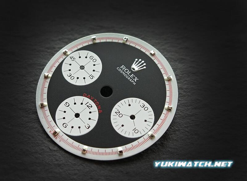 Daytona Black Paul Newman 6263 dial