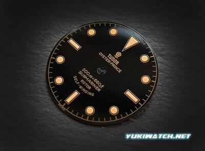 Tudor Submariner 7928 gloss dial