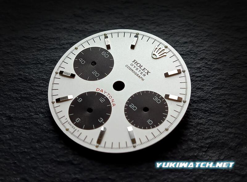Daytona silver 6263 dial