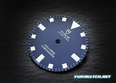 Tudor Submariner 9401/0 blue wht lume dial