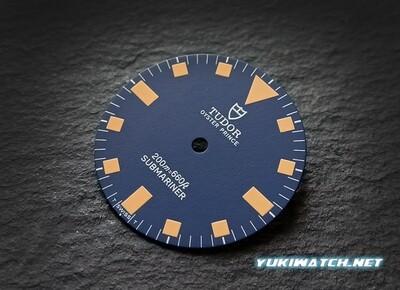 Tudor Submariner 9401/0 blue dial