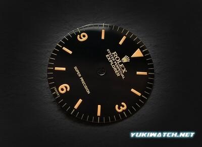 EXI 5500 gloss Super Precison dial