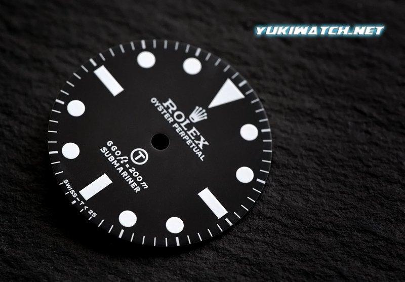 Submariner 5517 dial wht lume