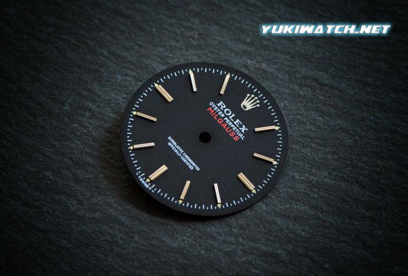 Milgauss 1019 black dial