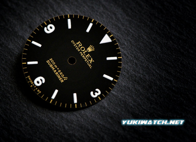 Submariner 5513 (3,6,9) gloss dial white lume