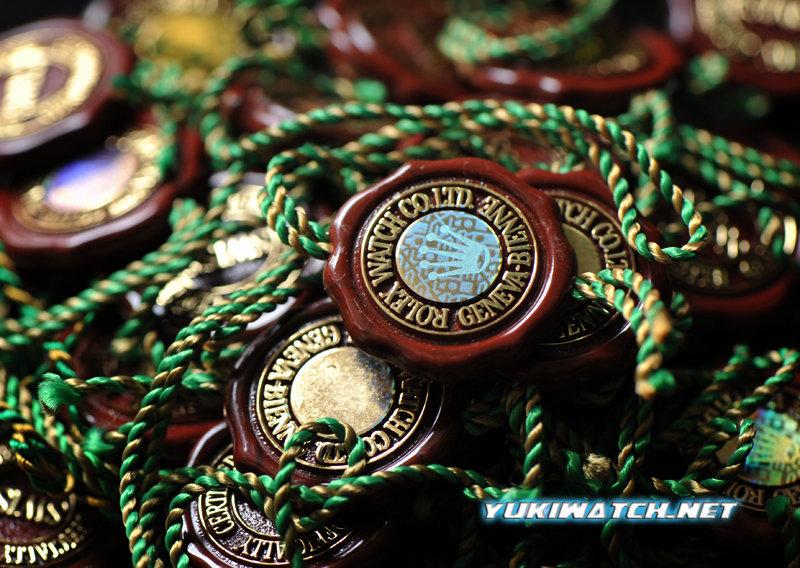 Gen Rolex Red Seal Tag
