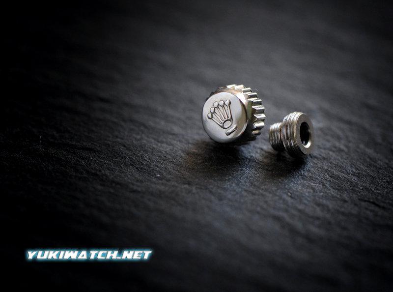 Rolex 5.3mm crown w/tube