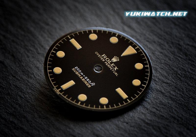 Submariner 6538 gloss 2 line dial