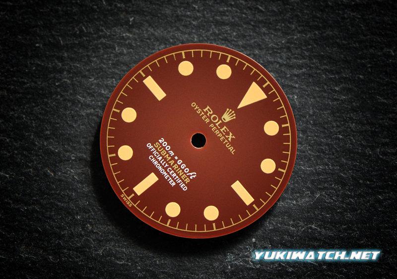 Submariner 6538 gloss chocolate dial
