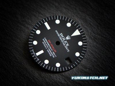 Sea Dweller 1665 Single Red wht lume dial