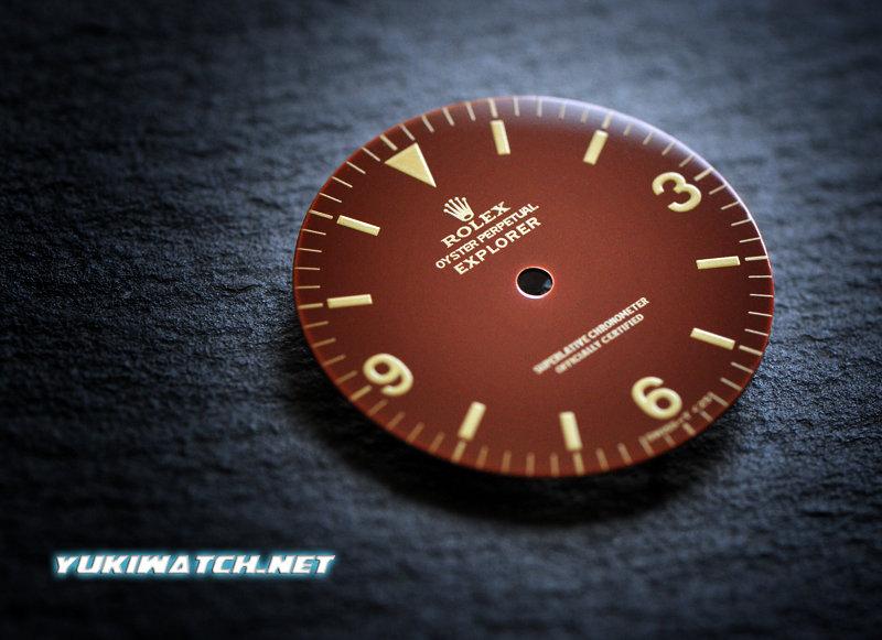 Explorer I 1016 chocolate gloss dial