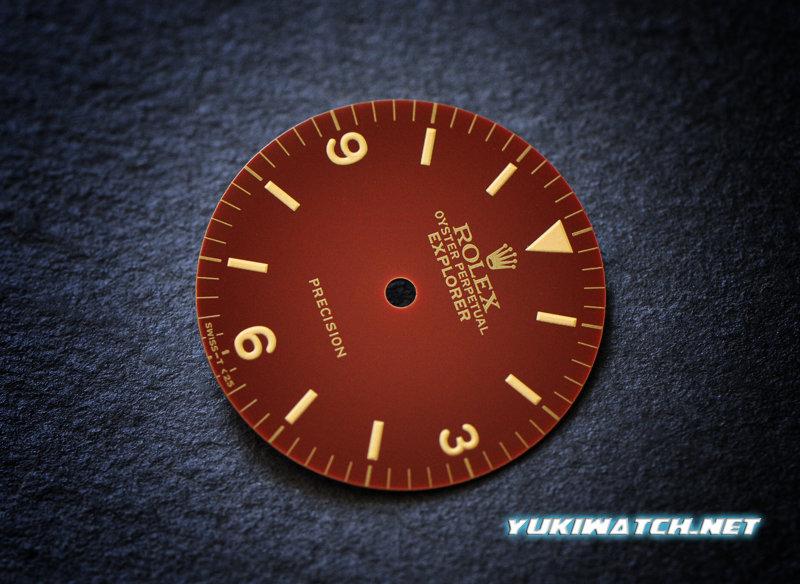 EXI 5500 gloss chocolate dial