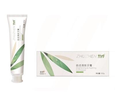 Зубная паста отбеливающая, освежающая и придающая блеск с мятным вкусом