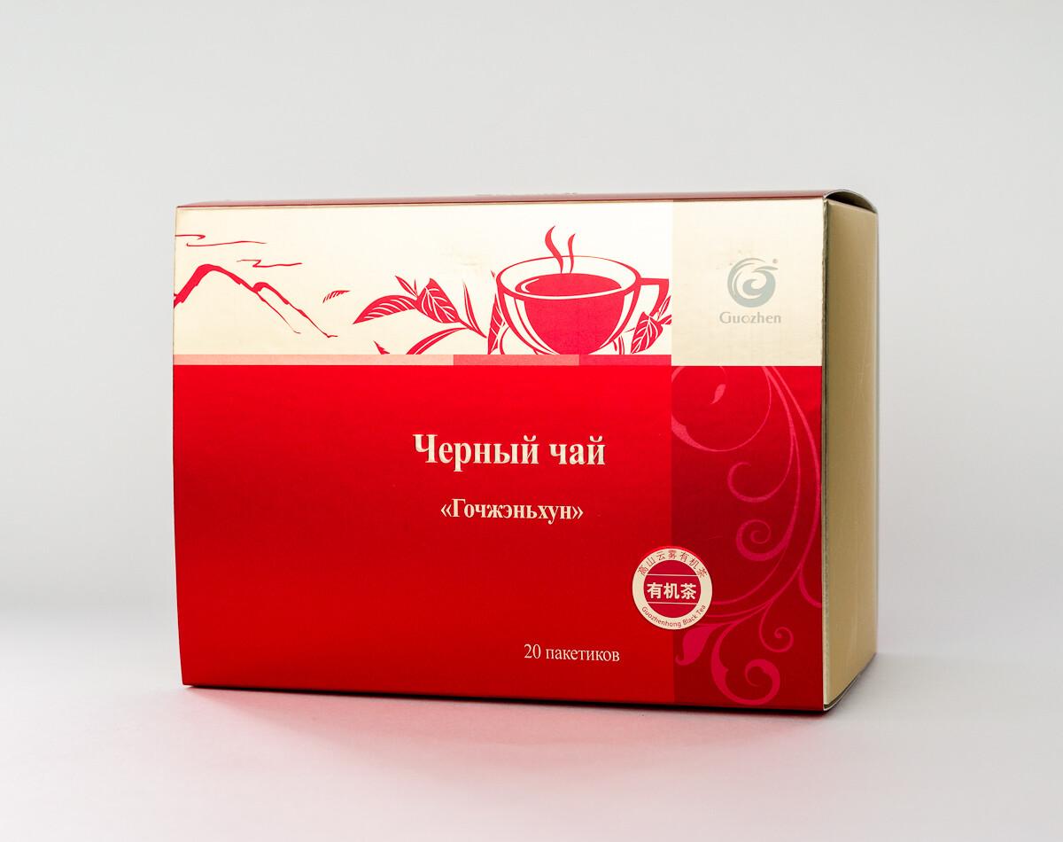 "Черный чай ""Guozhen"""
