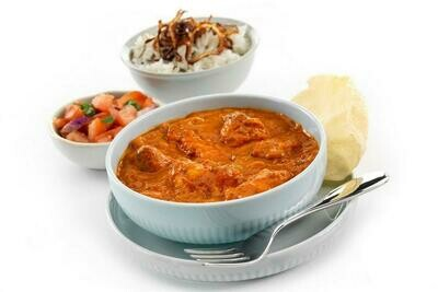 Individual frozen meals x6 - Lasagne/Tikka Masala/Vegan Cottage Pie