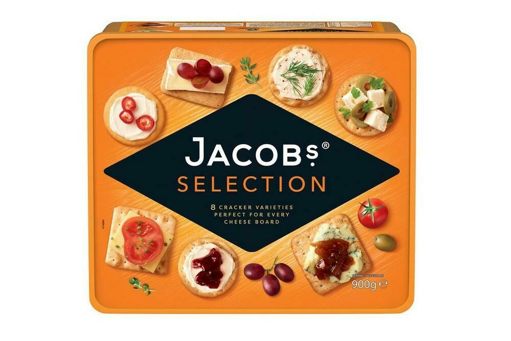 Jacobs Biscuits For Cheese Crackers 900g