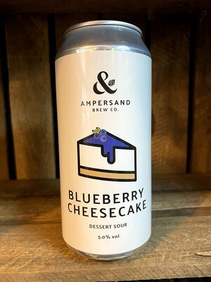 Ampersand - Blueberry Cheesecake