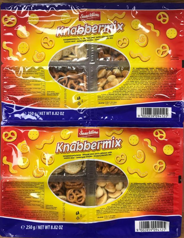 Snackline Savoury biscuits mix 250g