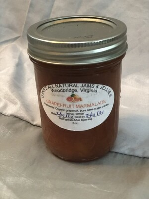 Grapefruit honey marmalade