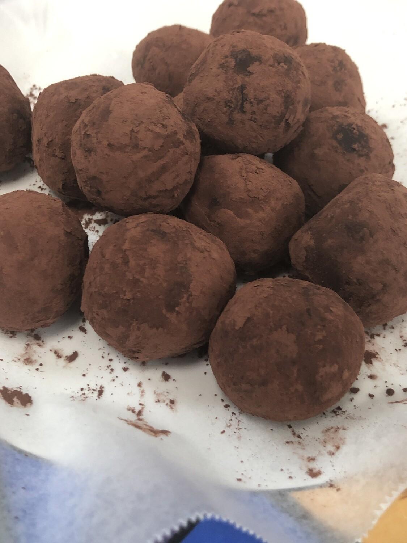 Chocolate orange 🍊 truffle