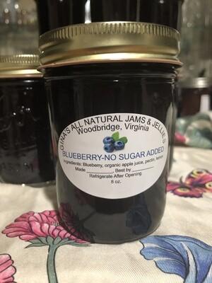 Blueberry Jam No Sugar Added
