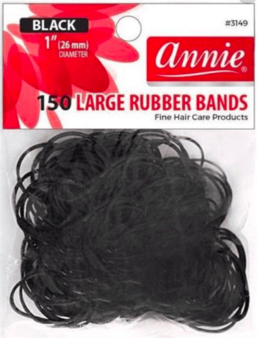 150 Large Rubber Bands 1inch #3149