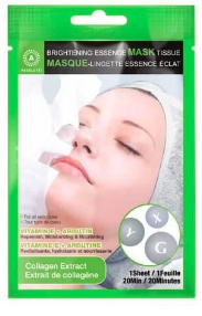 Absolute Brightening Essence Mask Tissue Collagen Extract