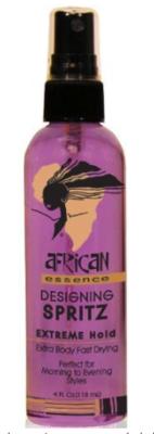 African Essence Designing Spritz Extreme Hold 4oz