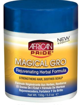 African Pride Magical Gro Rejuvenating Herbal Formula 5.3oz