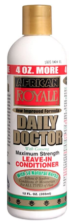 African Royal Daily Doctor Maximum Strength Leave-ln  Conditioner 4oz