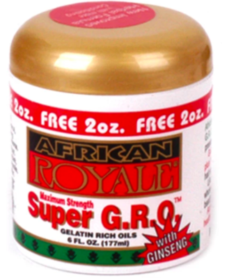 African Royale Super G.R.O (with Ginseng) 6oz