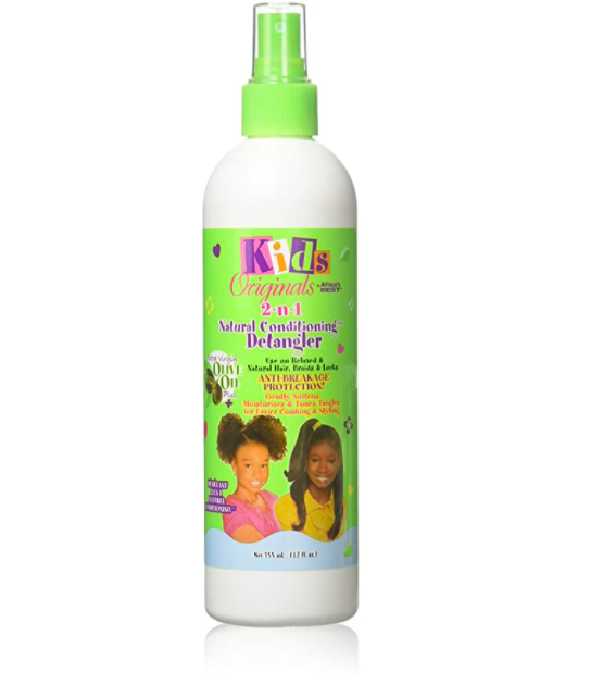 Africa's Best Kids 2 N 1 Natural Detangler