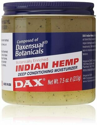 Dax Indian Hemp Deep Conditioning Moisturizer 7.5oz