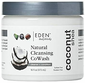 Eden Body Works Natural Cleansing Coconut Shea Co Wash 16oz