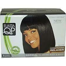Elasta QP No-lye Conditioning Creme Relaxer Kit Extra Body & Shine