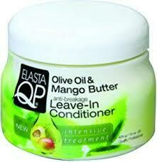 Elasta QP Olive Oil Mango Butter Leave-in Conditioner 15oz