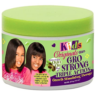 Africa's Best Gro Strong Triple Action + Olive Oil