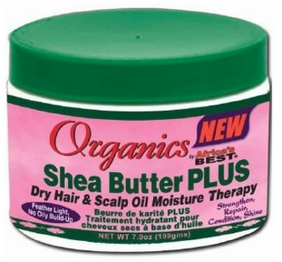 Africa's Best Organics Shea Butter Plus Dry Hair & Scalp Oil Moisture Therapy 8oz