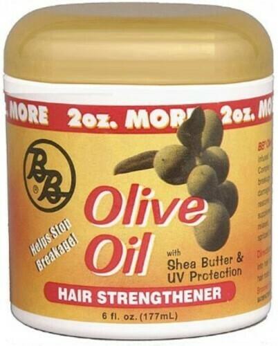 BB Olive Oil Hair Strengthener 6oz