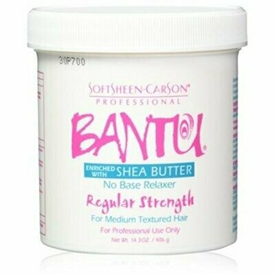 Bantu No Base Relaxer Regular Strength Enriched With Shea Butter 14.3oz