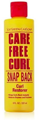 Care Free Curl Snap Back Curl Restorer 8oz