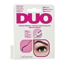 Eyelash Glue Duo Blends With Black Or Brown