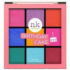 Eyeshadow Birthday Cake